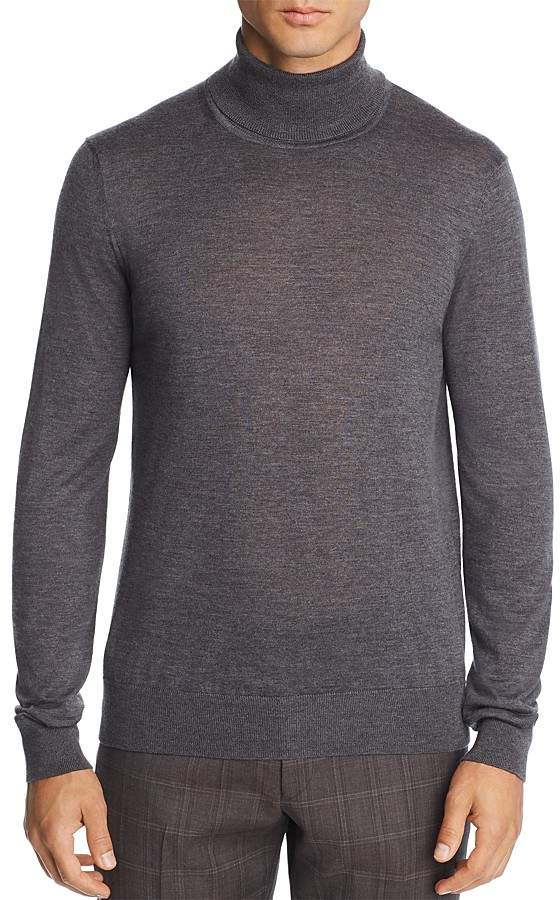 The Men's Store at Bloomingdale's Merino Wool Turtleneck Sweater - 100% Exclusive