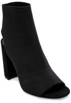 Design Lab Daria Knit Peep Toe Bootie