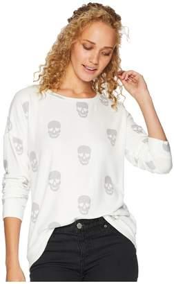 PJ Salvage Simple Skull Sweatshirt Women's Sweatshirt