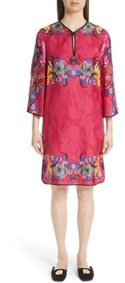 Etro Floral Jacquard Shift Dress