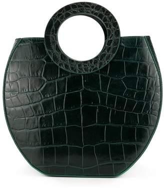 STAUD Frida crocodile embossed bag