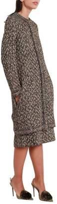 M Missoni Metallised Multicolor Overcoat