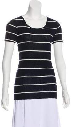 Jenni Kayne Striped Short Sleeve Top