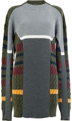 Y/Project Y / Project striped cable knit jumper