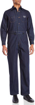 Dickies Construct Denim Blue Coveralls