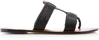 Alexandre Birman Woven Leather Sandals