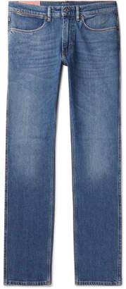 Acne Studios Max Slim-Fit Stretch-Denim Jeans - Men - Blue