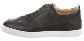 Christian Louboutin Junior Leather Sneakers
