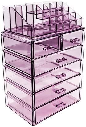 Sorbus Makeup Storage Organizer - Purple