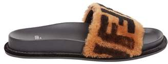 Fendi Double F pool slides