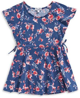 Splendid Floral Cotton Dress