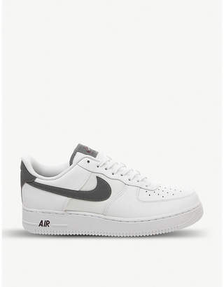 force 1 07 leather trainers