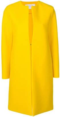 Harris Wharf London collarless midi coat
