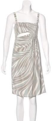 Gucci Silk Knee-Length Dress w/ Tags
