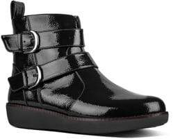 FitFlop Laila Double Buckle Ankle Boots