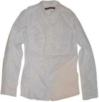 Comptoir des Cotonniers White Cotton Top for Women