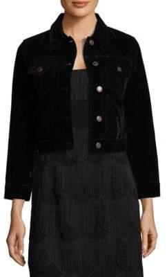 Marc Jacobs Shrunken Velvet Jacket