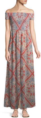 Tularosa Henderson Off-The-Shoulder Maxi Dress