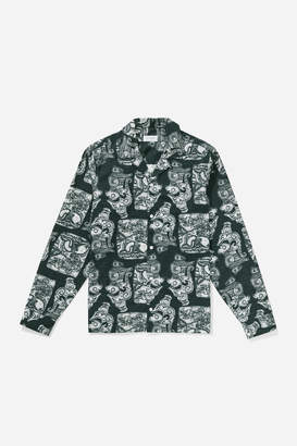 Saturdays NYC Canty Pendant Long Sleeve Shirt