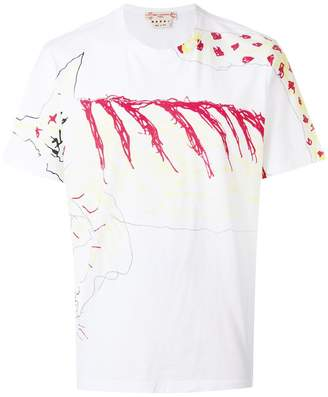 Marni graphic print T-shirt