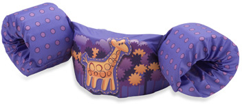 Bed Bath & Beyond Stearns® Puddle Jump Deluxe Giraffe Children's Life Jacket