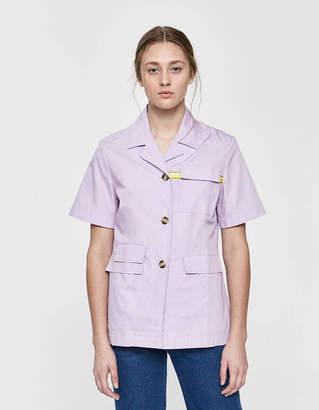 Aalto Basic Short Sleeve Button Up Shirt