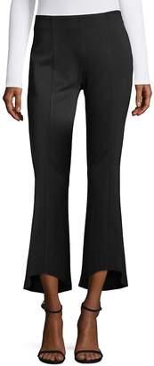 Supply & Demand Women's Hi-Lo Kick Flare Ankle Pants