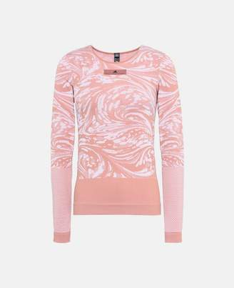 adidas by Stella McCartney Stella McCartney pink seamless yoga top