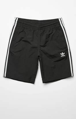 """adidas 3-Stripes 19"""" Swim Trunks"""