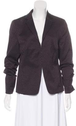 Akris Punto Textured Casual Blazer
