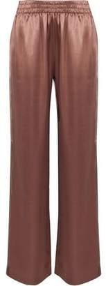 J Brand Modal And Silk-Blend Satin Wide-Leg Pants
