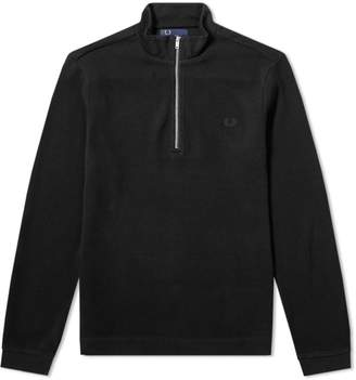 Fred Perry Authentic Half Zip Rib Pullover