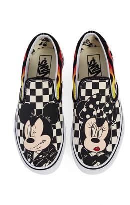 c572e55b8a ... Vans Vault By by x Disney Mickey   Minnie Classic Slip On