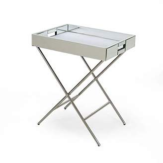 Christopher Knight Home 308292 Grace Glam Mirrored Tray Top Accent Table