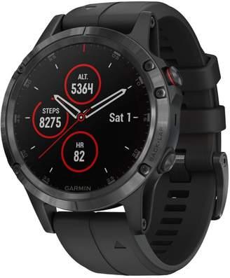L.L. Bean L.L.Bean Garmin Fenix 5 Plus GPS Fitness Watch, Sapphire