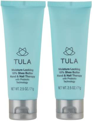 Tula TULA by Dr. Raj Probiotic Moisture Lock Hand and Nail Therapy Duo