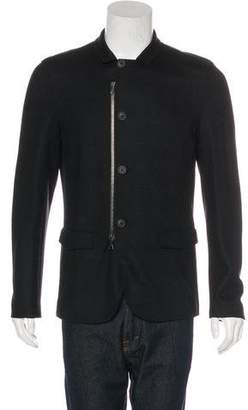 John Varvatos Zip-Front Jacket