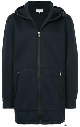 CK Calvin Klein zipped hood coat