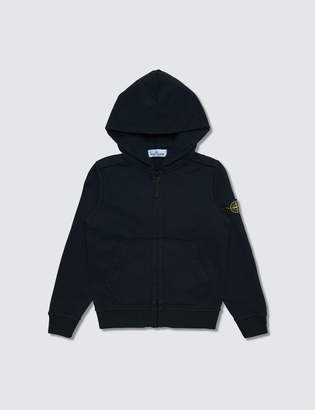 Stone Island Basic Zip Up Hoodie (Infant)