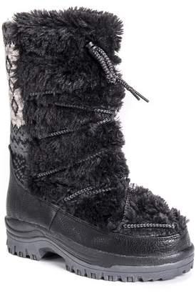 Muk Luks Massak Faux Fur Snow Boot
