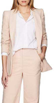 Katharine Hamnett Women's Sofia Cotton Moleskin One-Button Blazer