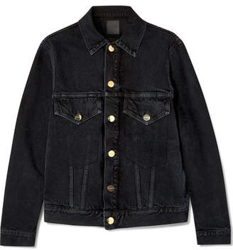 Gold Sign The Morton Denim Jacket - Black