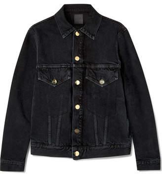 Gold Sign The Morton Denim Jacket - Black