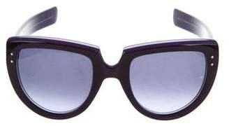 Oliver Goldsmith Gradient Square Sunglasses