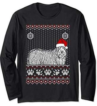 Bearded Collie Christmas Long Sleeve T-Shirt Noel Gift