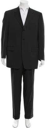 Canali Striped Wool Suit