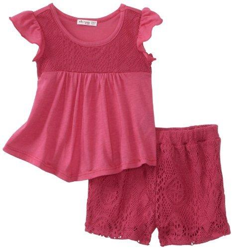 Little Ella Baby-girls Infant Senorita Top Short Set