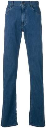 Canali slim fit straight leg jeans