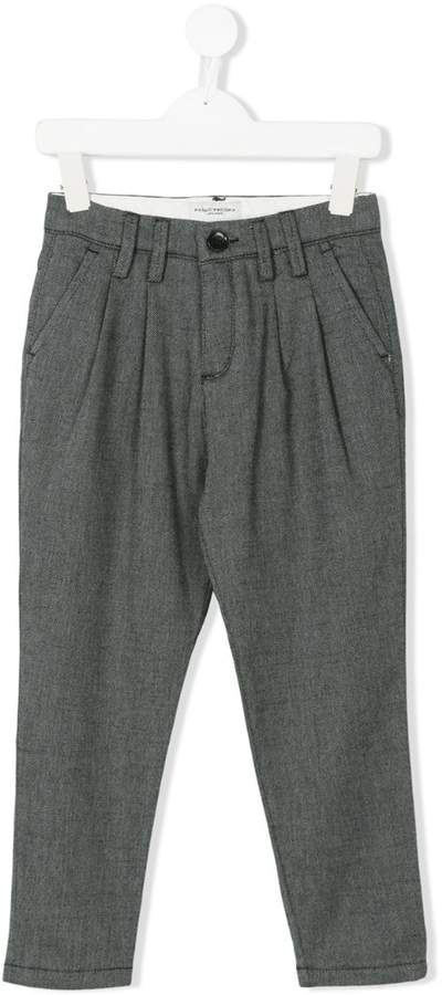 Paolo Pecora Kids smart pleated trousers