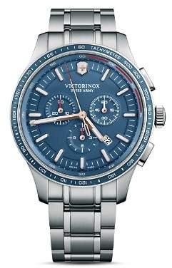 Victorinox Alliance Sport Blue Dial Chronograph, 44mm